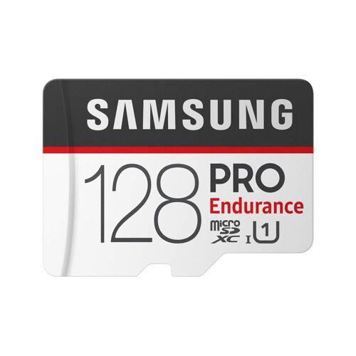 Samsung PRO Endurance microSD Karte (SD Adapter) »Anwendung Überwachungstechnik«, grau