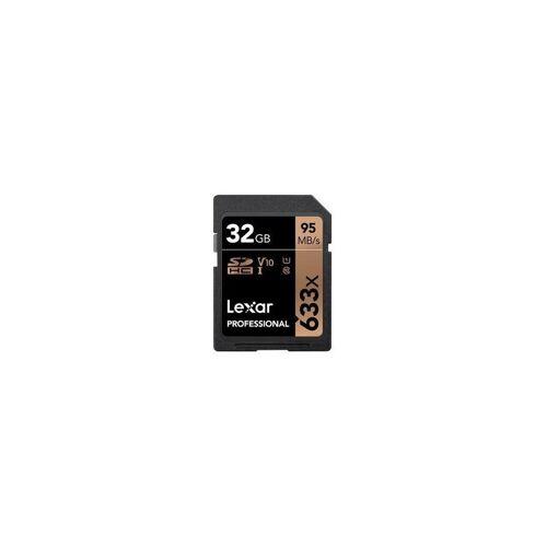 Lexar »Professional SDHC 32GB 633x UHS-I V10« Speicherkarte