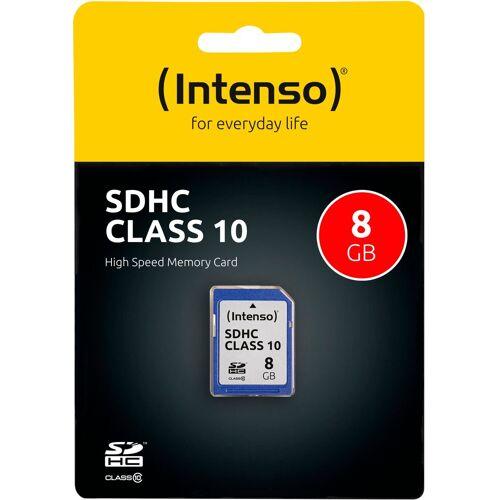 Intenso »SDHC Class 10« Speicherkarte (Lesegeschwindigkeit 20 MB/s)