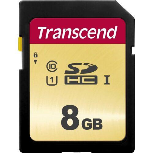 Transcend »SDXC/SDHC 500S« Speicherkarte (Lesegeschwindigkeit 95 MB/s)