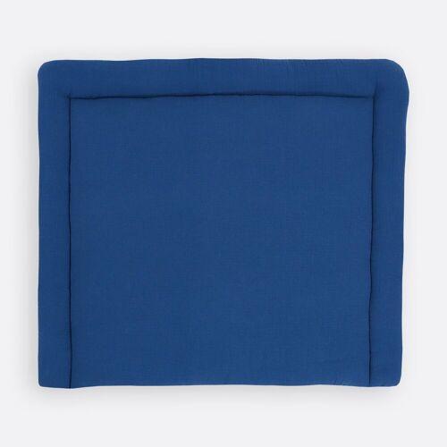 KraftKids Wickelauflage »Musselin blau«, extra Weich (500 g/qm), mit antiallergenem Vlies gefüllt