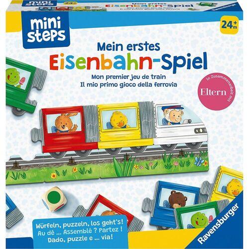 Ravensburger Lernspielzeug »ministeps® Mein erstes Eisenbahn-Spiel«