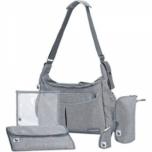 BABYMOOV Wickeltasche »Wickeltasche Urban Bag, blue«