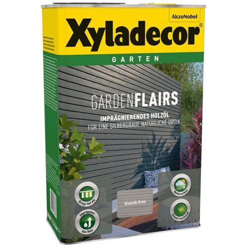 Xyladecor Xyladecor Holzöl »Garden Flairs«, für Gartengestaltung, klassik grau, 0,75 l