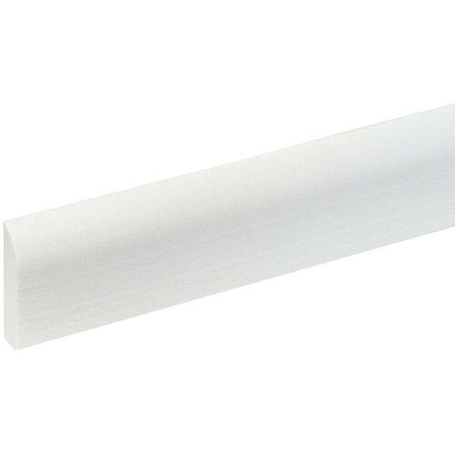 Bodenmeister : Sockelleiste »Biegeleiste Oberkante abgerudet weiß«, flexibel, biegbar, Höhe: 4,4 cm, weiß