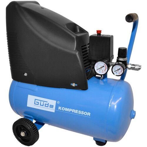 Güde GÜDE Kompressor »220/08/24 ölfrei«, 230 V, blau