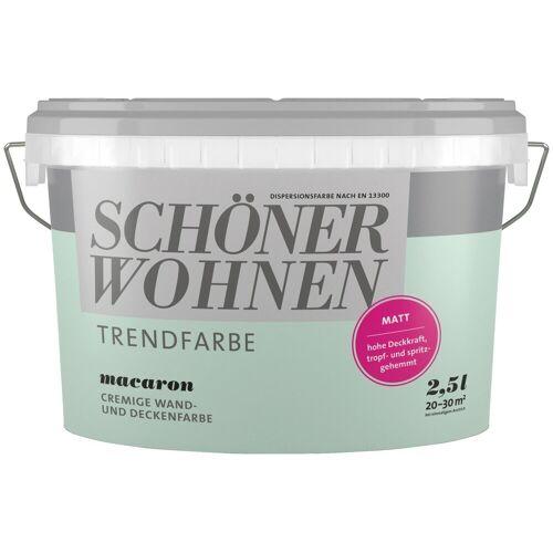 SCHÖNER WOHNEN-Kollektion SCHÖNER WOHNEN FARBE Wand- und Deckenfarbe »Trendfarbe Macaron, matt«, 2,5 l, macaron