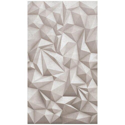 Bodenmeister Fototapete »3d Effekt Beton grau«, Rolle 2,80x1,59m, grau