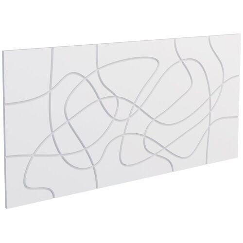 Decoflair Set: 3D Wandpaneel »®Wandpaneele Laces«, 2er-Set, 78 x 38 cm, weiß
