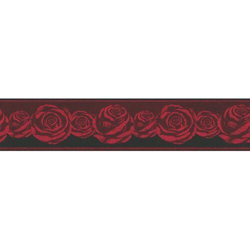 A.S. Création Bordüre »Only Borders«, strukturiert, floral, geblümt, mit Rosen, floral