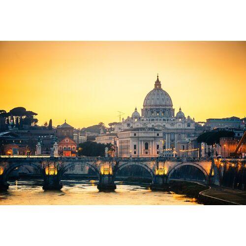 Papermoon Fototapete »St. Peters Cathedral in Rome«, Vlies, in verschiedenen Größen, bunt