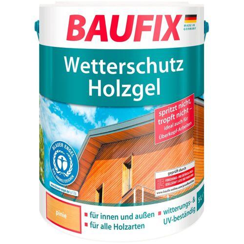 Baufix Holzschutz-Lasur »Pinie«, Wetterschutz-Holzgel, braun
