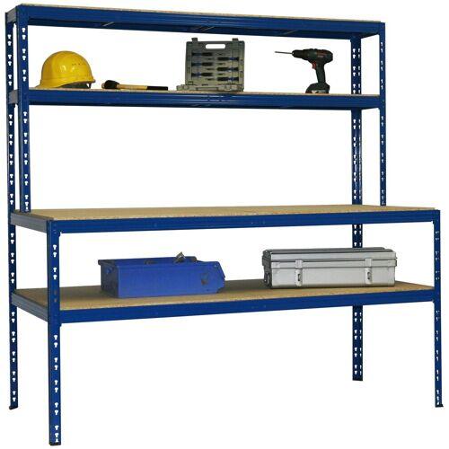 SZ METALL Werkbank »Werkbankregal Professional«, blau