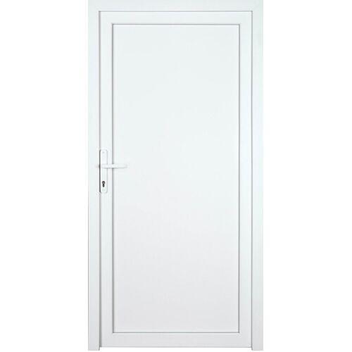 KM Zaun Nebeneingangstür »K604P«, BxH: 98x208 cm cm, weiß, links