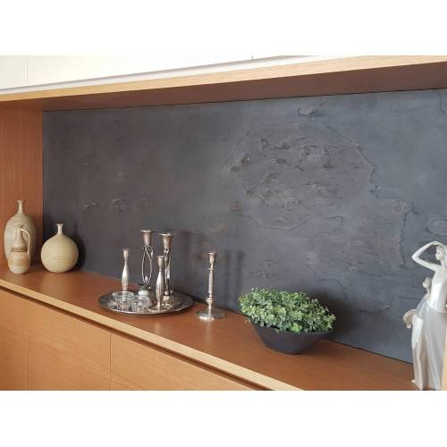 Slate Lite Dekorpaneele »Negro«, BxL: 61x122 cm, 0,74 qm, (1-tlg) aus Echtstein