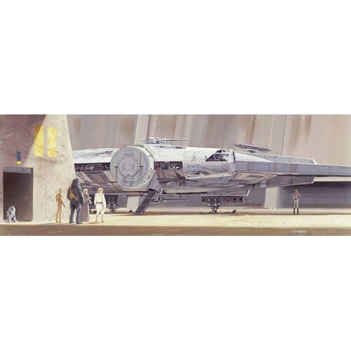 Komar Packung: Fototapete »STAR WARS Classic RMQ MilleniumFalcon«, aus Papier, bunt
