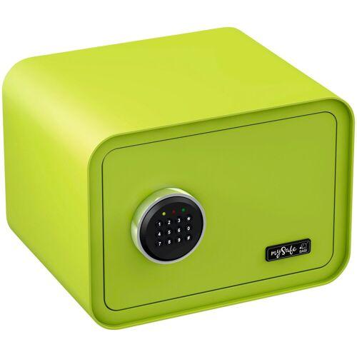 BASI Tresor »mySafe 350«, mit Zahlencode, grün