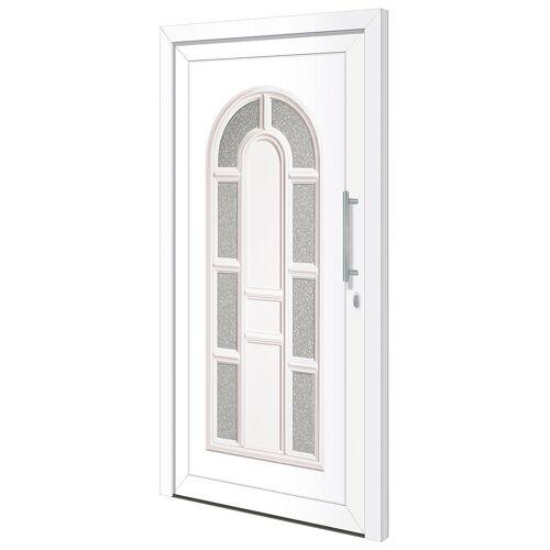 RORO Türen & Fenster Haustür »Otto 18«, BxH: 100x210 cm, weiß, ohne Griff