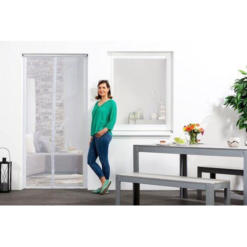 empasa Insektenschutz-Tür, Klemm-Magnet-Lamellenvorhang, weiß