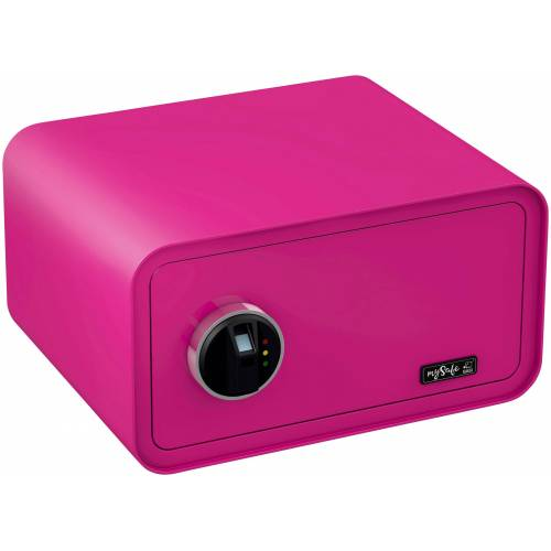 BASI Tresor »mySafe 430«, mit Fingerabdruck, rosa