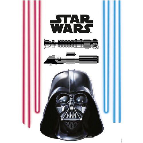 Komar Wandsticker »Wandsticker Darth Vader, 8-tlg.«