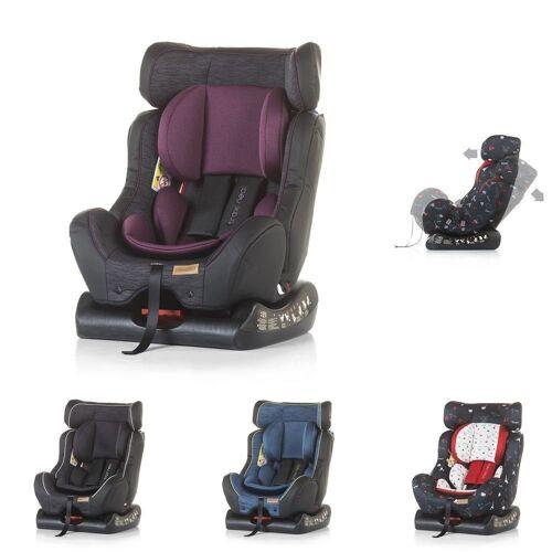 Chipolino Autokindersitz »Kindersitz Trax Neo Gruppe 0+/1/2«, 7.9 kg, (0 - 25 kg), Leinen- und Jeansstoff, lila
