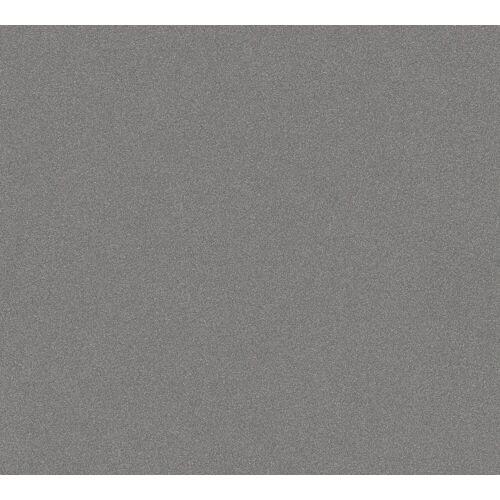 A.S. Création Vinyltapete, Glitzertapete Grau Papiertapete 344554 Wandtapete Unitapete Tapete