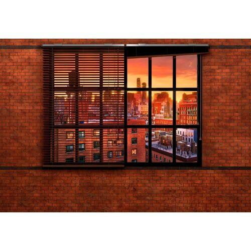Komar Fototapete »Brooklyn Brick«, glatt, Stadt