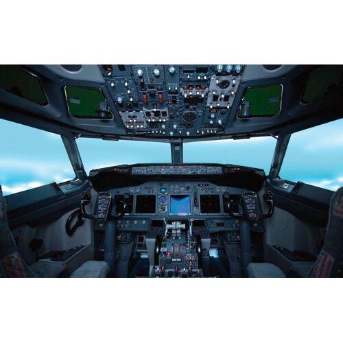 Rasch Fototapete »Cockpit«, mehrfarbig, FSC®