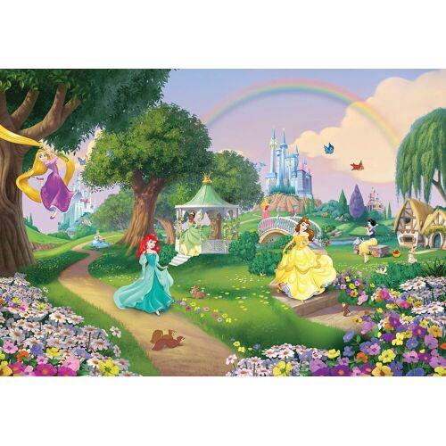 Komar Fototapete »Disney Princess Rainbow«, Comic