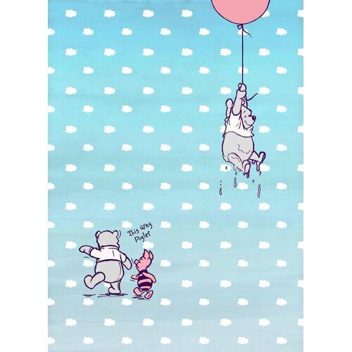 Komar Fototapete »Winnie Pooh Piglet«, Comic