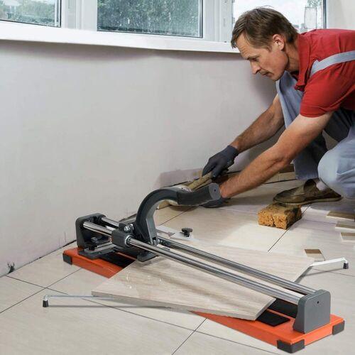 COSTWAY Fliesenschneider »Handfliesenschneider«, 61 cm Schnittlänge /Winkel von 0° bis 60°