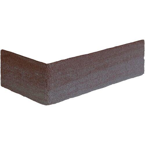 ELASTOLITH Verblender »Luzern Eckverblender«, BxL: 11,5x7,1 cm, (Set, 24-tlg) braun/rot, für Innen- und Aussenbereich, 2 Lfm
