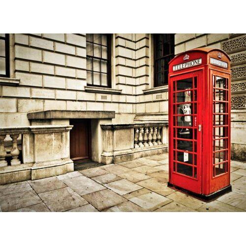 Fototapete »London -Telefonzelle«, 254/184 cm
