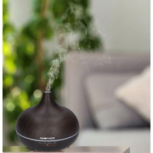 GEORGES Diffuser Aroma Diffuser 300ml Wood Art Dark Wood