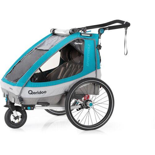 Qeridoo Fahrradkindersitz »Sportrex2 2020 Petrol«