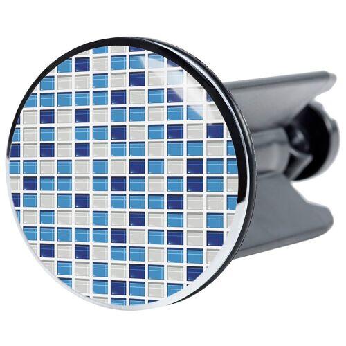 Sanilo Waschbeckenstöpsel »Mosaik Blau«, Ø 4 cm