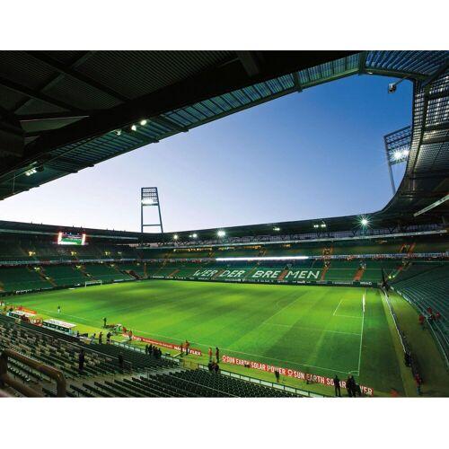 Fototapete »Werder Bremen - Weserstadion Innen«