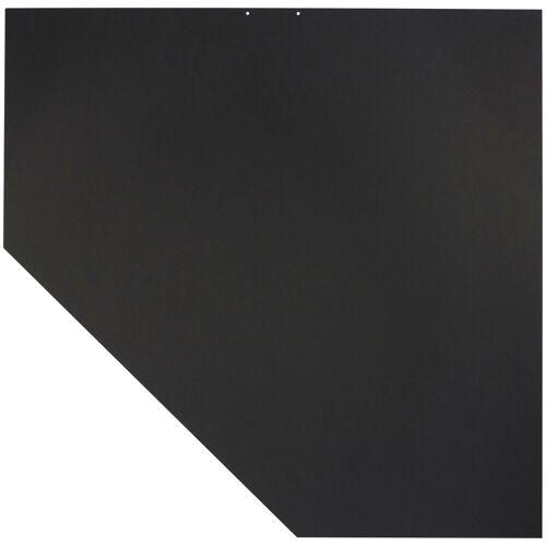 JUSTUS ORANIER Stahlbodenplatte für Kaminöfen »B5«, 100x120 cm, schwarz, zum Funkenschutz, schwarz