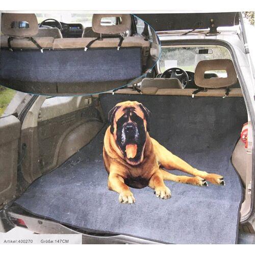 Lüllmann Tier-Autoschondecke »Kofferraumschutz Sitzschutz Hunde Autoschondecke«, Maße ca. 147 cm x 120 cm Passt in alle gängigen Pkw´s