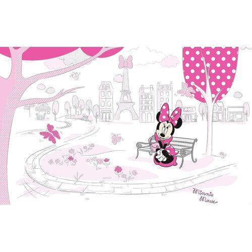 Komar Fototapete »Minnie in Paris«, 400/250 cm, bunt
