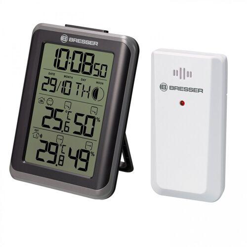 BRESSER »MyClimate Thermo- / Hygrometer Uhr« Wetterstation (Thermometer und Hygrometer)