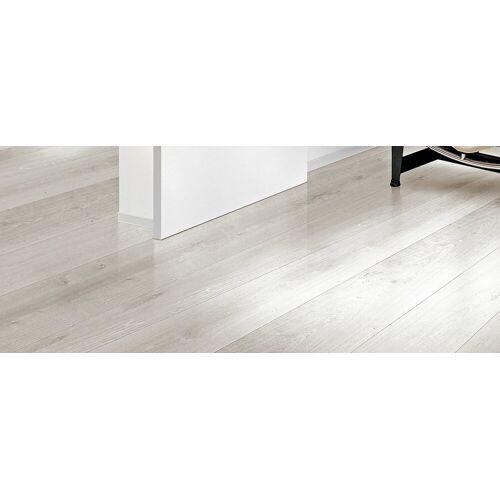 HTI-Line Vinylteppich »Selbstklebender Vinylboden«, , Höhe 1.50 mm, Hellgrau, Weiß