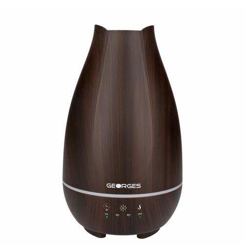 GEORGES Diffuser Aroma Diffuser Wood 500ml Dark Wood