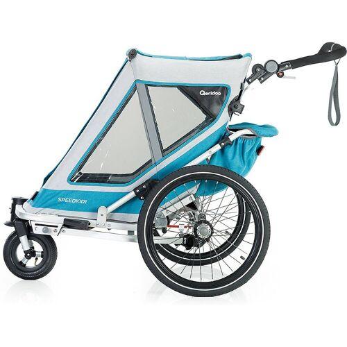 Qeridoo Fahrradkindersitz »Speedkid1 2020 Petrol«