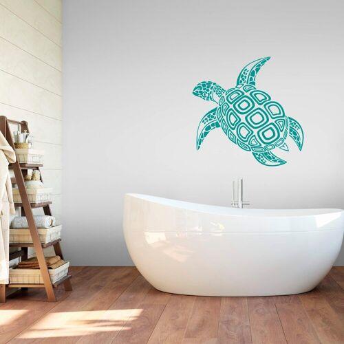ART Wall-Art Wandtattoo »Schildkröte«, grün