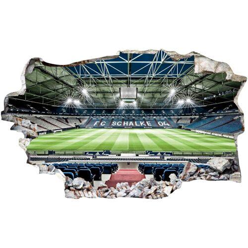 Wandtattoo »FC Schalke 04 Arena Tribüne«