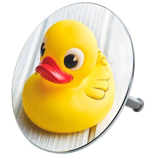 Sanilo Stöpsel »Ente«, für Badewannen und Duschen, Ø 7,2 cm, gelb