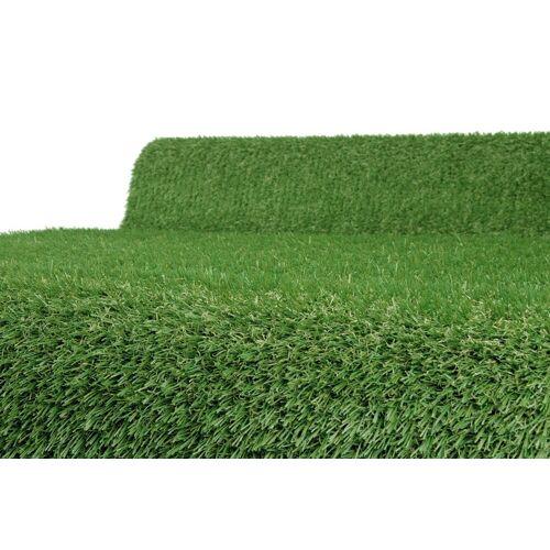 BigDean Kunstrasen »5x1m Rasenteppich 1837g/m² Rollrasen Fertigrasen Kunstgras«, , Höhe 1 mm