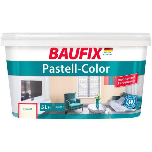 Baufix Wand- und Deckenfarbe »Pastell«, cremeweiß, 5 L, cremeweiß